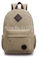 Free shipping hot sale male backpack canvas school bag  men's backpacks sport backpack preppy style backpack travel bag.