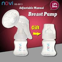 Manual breast pump nursing milker milk breast pump baby products xb-8611