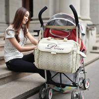 Large capacity multifunctional cross-body nappy bag waterproof fabric mother bag infanticipate bag mother baby bag