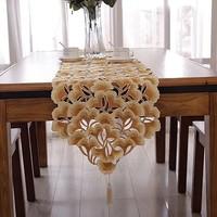 NEW STYLE  Corredor da tabela do bordado 40x220cm azarin embroidery table runner wedding hotel home NO.575-Y FREE SHIPPING