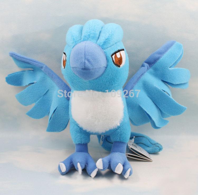 "BANPRESTO Pokemon Plush Toy Articuno 7"" Cute Soft Stuffed Animal Doll for Kids Baby Children(China (Mainland))"