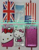 Free shipping 10pcs/lot New High Quality flag + flash powder + cartoon Design Hard IMD Case for Samsung Galaxy S i9000