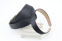 Black 2.8cm Satin Headband,ideal for fascinator wedding accessories hair accessories,5pcs/lot.