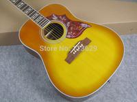 Acoustic Guitar, Hummingbird guitar,  Honey Burst One PC Neck