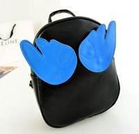 Factory Direct lovely angel wings shoulder bag backpack bag candy colored girls super-Q 30*25*9cm NBB107 Y8PA