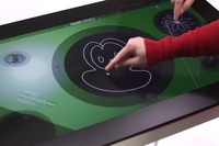 "42""  IR Multi Touch Screen Frame with 6 touch points Ratio 16:9"