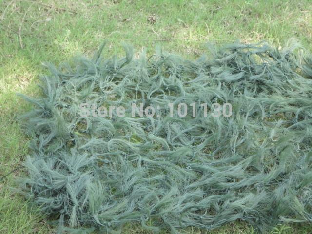 6x6m Grass Green Pine Needles Woodland Camouflage Net Decoration Net Netting Camping Photographie Sun-shade Net(China (Mainland))