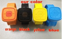 Fashion watch mp3 ,, support micro sd /TF card, 4colors ,  100pcs /lot,