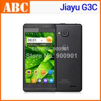 "in stock Original Jiayu G3c G3 1GB RAM 4GB ROM Android 4.2 MTK6582 Quad Core 4.5"" gorilla glass Russian language mobile phones"