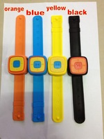 Fashion Colorful Watch Mp3 ,, support micro sd /TF card, 4colors ,  100pcs /lot,