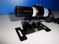 50mW 532nm green laser diode module (line shape) plus laser mount/kits + power adapter diameter 26mm x105mm length