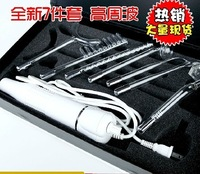 free shipping 7in1 electronic roller face care darsonval High Frequency electrotherapy for hair growth as seen on tv