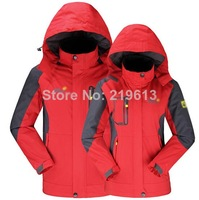 2014 new men womens outdoor jackets couples hiking clothes windbreaker water proof sport jacket plus size clothing 3xl 4xl 5xl