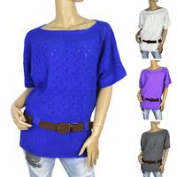 2015 new  winter fashion style sweater coat women's sweaters women's knitwear render sweater with belfs free shipping 8305