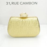2014  bridal bag gold black silver evening bag day clutch women's handbag clutch bag women's small bag free shipping top quality