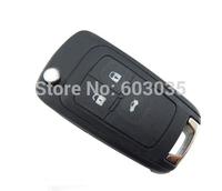 BRAND NEW Flip Folding Remote Key 3 Button ForChevrolet&Buick&Opel 433MHZ ID46 Chip HU100 Uncut Blade
