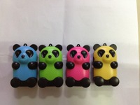 Cute Panda Mp3 , support micro sd /TF card, 5colors ,  20pcs /lot,