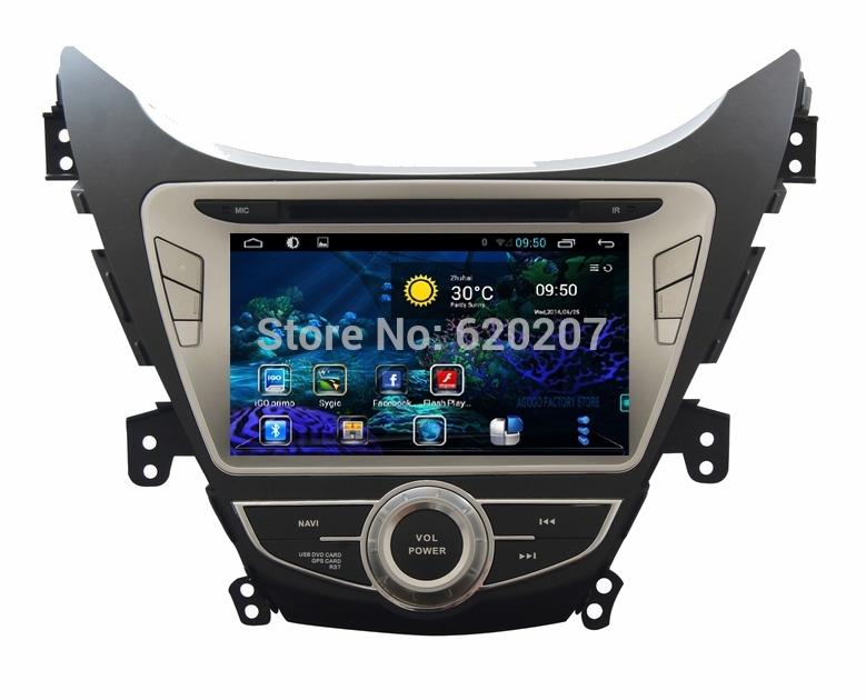 HYUNDAI ELANTRA/i35/AVANTE Android 4.4 CAR DVD player , Capacitive screen,GPS, DVD, FM/AM, iPod, Bluetooth, RDS, 3g, wifi,(China (Mainland))