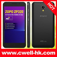 "Hot !Original zopo zp320 MTK6582M quad core cell phone 5.0"" ips Android 4.4 kitkat First zopo phone support FDD 4G LTE phone"