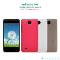 New Original Nillkin Case for HTC Desire 300 301E 4 Colors Matte Hard Back Cover Case + Screen Protector, Free shipping