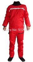 High Quality Unisex Semi Dry Suit for Training Kayaking Sailing Canoeing Kayak Rafting Sailing Red/Blue/Orange Factory Supply
