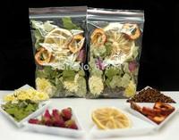 20 sachets slimming scented tea,chrysanthemum ,rose,lotus leaf,hawthorn,cassia seeds,lemon,Scented tea combination,free shipping