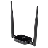 Long Range 1000mW 1W USB WiFi Wireless N Adapter +Antenna+buildin signal booster