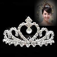 Latest bridal wedding jewelry crown tiara headband headdress high-end accessories