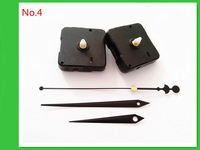 No Tic 2PCS Quartz Clock Movement Kit Spindle Mechanism Shaft 13mm