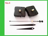 No Tic 2PCS Quartz Clock Movement Kit Spindle Mechanism Shaft 13mm
