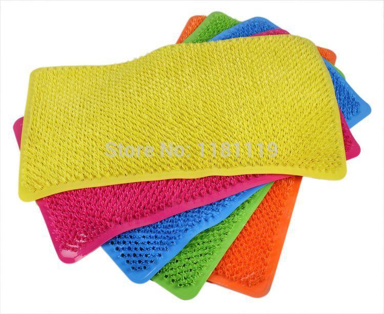 Ultralarge bath mat bathroom mats Large bath mats pvc mats slip-resistant pad 65*36cm(China (Mainland))