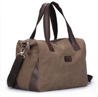 100% cotton canvas big bag one shoulder handbag travel large capacity travel luggage bag