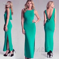 2014 Women long dress Summer Bohemian Dress Women Chiffon Ankle-Length Long Dresses Sleeveless Vest Dress Vestidos LYQ-030