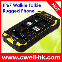 "Original Rugged Android Phone ZGPAX S9  IP67 Waterproof Smartphone Dual Sim GSM WCDMA 4.5"" Screen PTT Walkie Talkie SOS GPS"