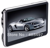 5 inch Car GPS Navigator without Bluetooth&AV IN 4GB load 3D Map