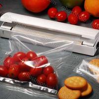 Portable Reseal And Save handy Plastic Food Saver Storage Bag Sealer Keep food fresh & reduce waste packer free shipping