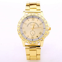 Hot- Women Dress Watch, Fashionable Stainless Steel Watches, Quartz Analog Watches