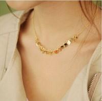 Fashion vintage accessories skull decoration short design necklace chain female