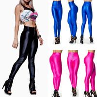 13 Colors Sexy 2014 Women Ladies Leggins Gym Yoga Sports Pants Fitness Legging Womens Zipper Waist Leggings Drop Shipping S16-1