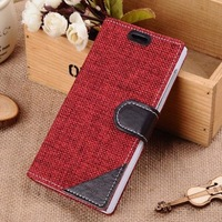 High Quality Protective Flip Cover for Xiaomi mi3 m3 leather case + Free ship