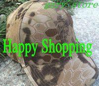 Tactical Hunting Rattlesnake Hat Combat Baseball Cap Airsoft Hats Desert camo