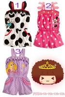 2014  Baby Rompers Leisure New Arrival Summer  Jumpsuit Dots romper  Retail Free shipping RS141