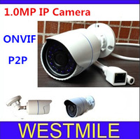 Newest!! Mini IP Camera 720P Securiy Waterproof HD Network CCTV Camera Support Phone Android IOS P2P,ONVIF2.0  free shipping