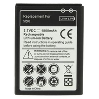 Free DHL/FEDEX/UPS  shipping  200pcs/lot    1800mAh  Replacement Battery for  Galaxy Ace Plus / S7500 / S6500