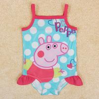 children swimwear baby & kids piece swimsuit children's bathing suits nova brand peppa pig swimwear for girls bikini girl R4775