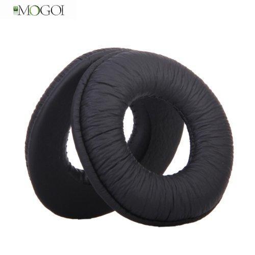 Mogoi Foam Ear Cup Pads Cushions Earpads for MDR-V150 V250 V300 Headphones (Black,1 Pair)(China