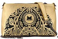 2014 New Women bag fashion bag Retro floral envelope bag worn thin shoulder bag handbag B-003