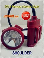 High brightness 5W  LED 48000Lx IP65   led hunting head lights free shipping