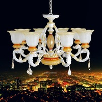 2014  Fashion chandelier rustic living room lamps brief tieyi resin crystal lighting ds-011