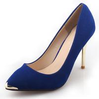 woman pumps   pointed toe wedding shoes   black  high heel thin heels